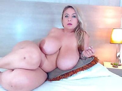 Real Huge Boobs BBW Slut Maid