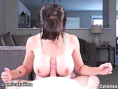 Big Breasts Worship - Catalina Cruz Pornstar
