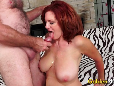 Sultry Mature Andi James Gets Drilled
