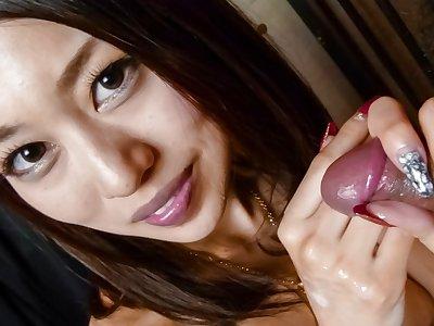 Hottest Japanese chick An Yabuki in Fabulous JAV uncensored Blowjob scene