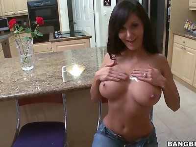 Hot ass mature milf Ava Addams takes on fat cock