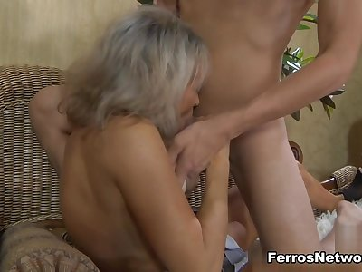 GuysForMatures Movie: Ninette M and Robin
