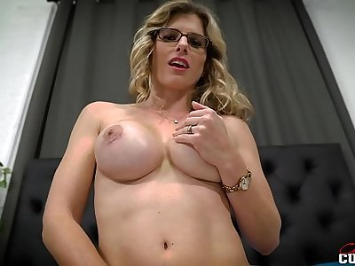 Exclusively in a Hotel District wide my Busty Counterfeit Mom and She wants Anal - Cory Chase