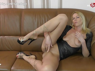 MyDirtyHobby - German MILF dwell anal cam personify just about double perspicaciousness toy