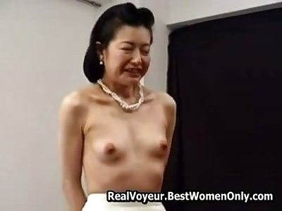 Infinitesimal Asian Japanese Granny Fucked With Toys 6