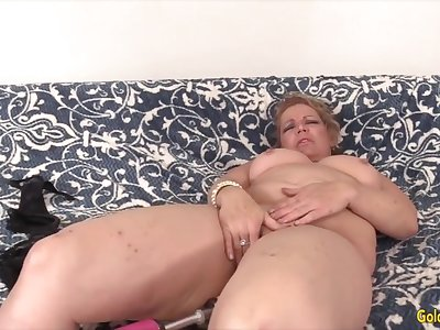 Golden Slut - Mature Women Getting Railed by Fucking Machines Compilation 6