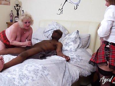 AgedLovE Three British Matures and Hardcore Sex