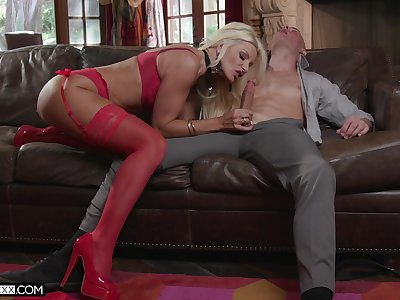 Older cougar Brittany Andrews is going to teach her unused stepson everything