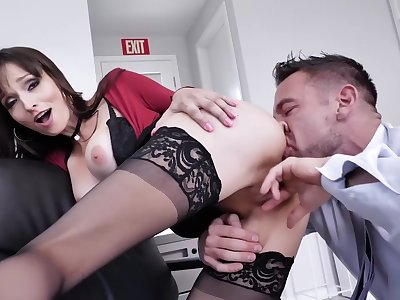 Johnny Please Lexis Pussy For Career Move