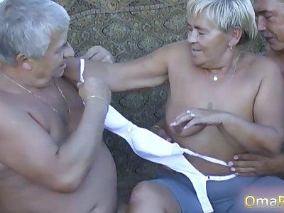 OmaPasS Compilation of Nasty Granny Dimensions