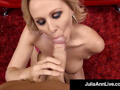 Beamy Titty Milf Julia Ann Tongue Fucks Hot Babe Kayla Paige!