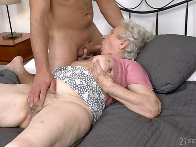Influential sexual passion for grandma