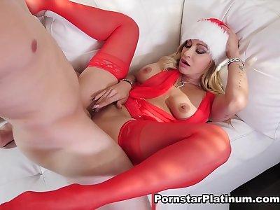 Claudia Valentine in Xmas Cock For Me - PornstarPlatinum