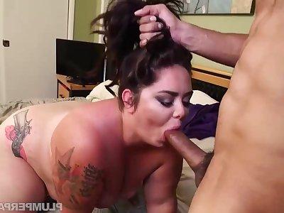 Big Babe Wipe out Down - BBW Vanessa london