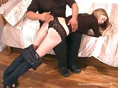 Castigating Girl
