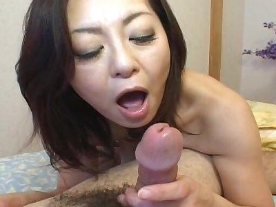 Amateur mistiness of Japanese babe Miyuki Kisaragi having on target sex