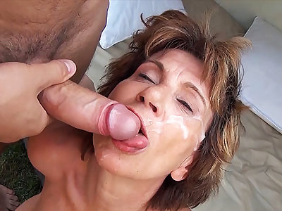 76 years old mom celebrates her gorge oneself