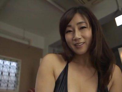 Hottest POV sex adventure with Japanese MILF Miyabe Suzuka