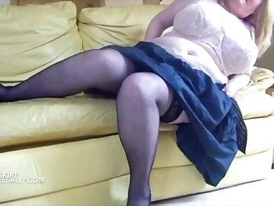 Vintage big boobs Mature Debit
