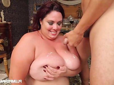BBW mommy Rikki Waters incredible sex video